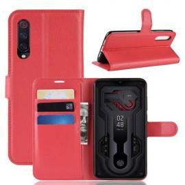 Book Case Xiaomi Mi 9 Hoesje - Rood