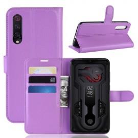 Book Case Xiaomi Mi 9 Hoesje - Paars