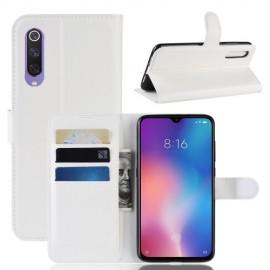 Book Case Xiaomi Mi 9 SE Hoesje - Wit