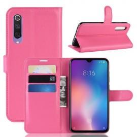 Book Case Xiaomi Mi 9 SE Hoesje - Roze