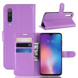 Book Case Xiaomi Mi 9 SE Hoesje - Paars