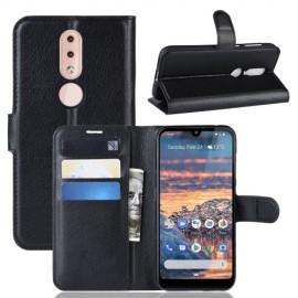 Book Case Nokia 4.2 Hoesje - Zwart