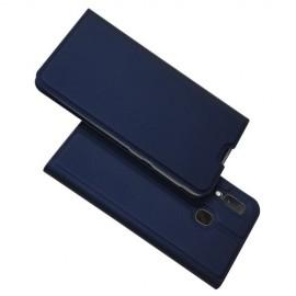 Folio Book Case Samsung Galaxy A20e Hoesje - Blauw