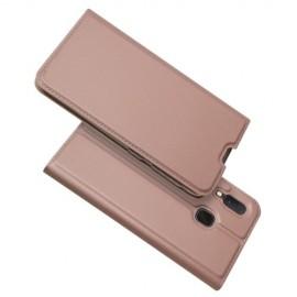 Folio Book Case Samsung Galaxy A20e Hoesje - Rose Gold