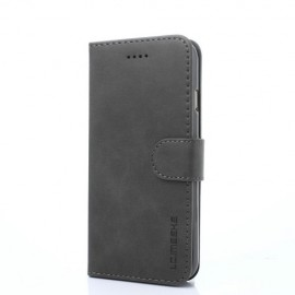 Luxe Book Case iPhone 8 / 7 Hoesje - Grijs