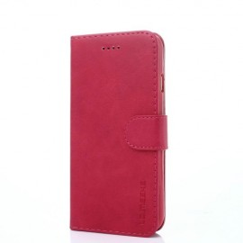 Luxe Book Case iPhone 8 / 7 Hoesje - Roze