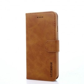 Luxe Book Case iPhone 8 / 7 Hoesje - Bruin