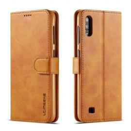Luxe Book Case Samsung Galaxy A10 Hoesje - Bruin