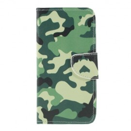 Book Case Samsung Galaxy A10 Hoesje - Camouflage