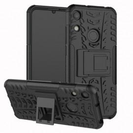 Rugged Kickstand Huawei Y6 (2019) Hoesje - Zwart