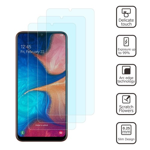 Duo-Pack Tempered Glass Samsung Galaxy A20e