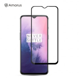 Full-Cover Tempered Glass OnePlus 7 - Zwart