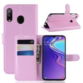 Book Case Samsung Galaxy M20 Hoesje - Pink