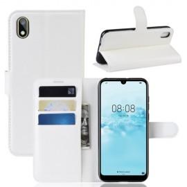Book Case Huawei Y5 (2019) Hoesje - Wit