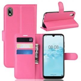 Book Case Huawei Y5 (2019) Hoesje - Roze