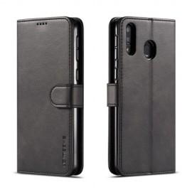 Luxe Book Case Samsung Galaxy M20 (Power) Hoesje - Zwart