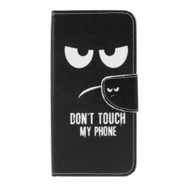 Book Case Samsung Galaxy M20 Hoesje - Don't Touch