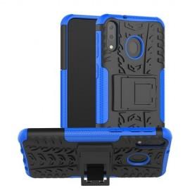 Rugged Kickstand Samsung Galaxy M20 (Power) Hoesje - Blauw