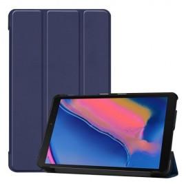 Smart Book Case Samsung Galaxy Tab A 8.0 (2019) Hoesje - Donkerblauw