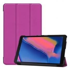 Smart Book Case Samsung Galaxy Tab A 8.0 (2019) Hoesje - Paars