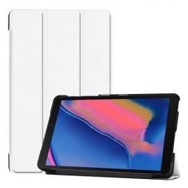 Smart Book Case Samsung Galaxy Tab A 8.0 (2019) Hoesje - Wit