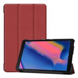 Smart Book Case Samsung Galaxy Tab A 8.0 (2019) Hoesje - Bordeaux