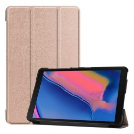 Smart Book Case Samsung Galaxy Tab A 8.0 (2019) Hoesje - Rose Gold