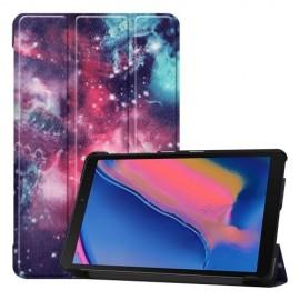 Smart Book Case Samsung Galaxy Tab A 8.0 (2019) Hoesje - Galaxy