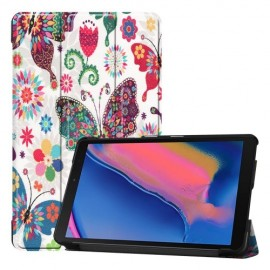 Smart Book Case Samsung Galaxy Tab A 8.0 (2019) Hoesje - Vlinders