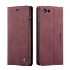 CaseMe Book Case iPhone 6 / 6s Hoesje - Bordeaux