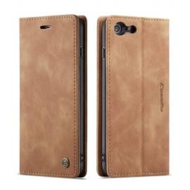 CaseMe Book Case iPhone 6 / 6s Hoesje - Bruin