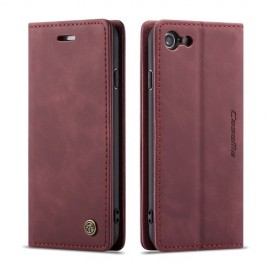 CaseMe Book Case iPhone 8 / 7 Hoesje - Bordeaux