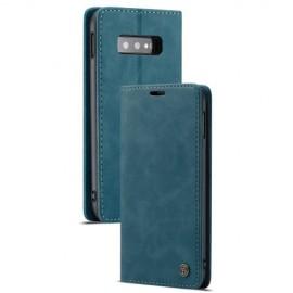 CaseMe Book Case Samsung Galaxy S10e Hoesje - Blauw