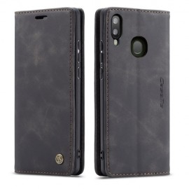 CaseMe Book Case Samsung Galaxy A40 Hoesje - Zwart