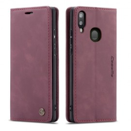 CaseMe Book Case Samsung Galaxy A40 Hoesje - Bordeaux