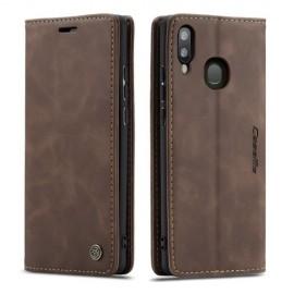 CaseMe Book Case Samsung Galaxy A40 Hoesje - Donkerbruin