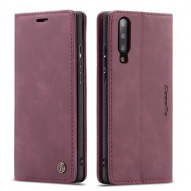 CaseMe Book Case Samsung Galaxy A50 Hoesje - Bordeaux