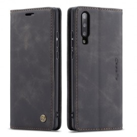 CaseMe Book Case Samsung Galaxy A70 Hoesje - Zwart