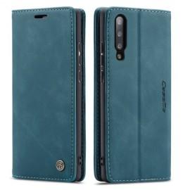 CaseMe Book Case Samsung Galaxy A70 Hoesje - Blauw