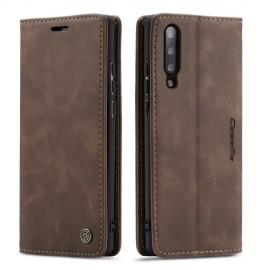 CaseMe Book Case Samsung Galaxy A70 Hoesje - Donkerbruin