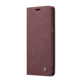 CaseMe Book Case Samsung Galaxy S9 Plus Hoesje - Bordeaux