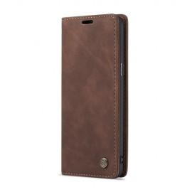 CaseMe Book Case Samsung Galaxy S9 Plus Hoesje - Donkerbruin
