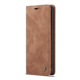 CaseMe Book Case Samsung Galaxy S7 edge Hoesje - Bruin