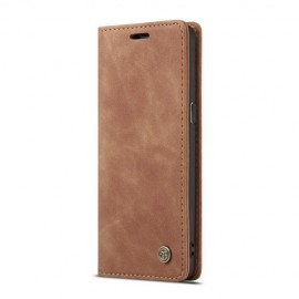 CaseMe Book Case Samsung Galaxy S8 Hoesje - Bruin
