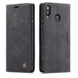 CaseMe Book Case Samsung Galaxy A20e Hoesje - Zwart
