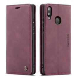 CaseMe Book Case Samsung Galaxy A20e Hoesje - Bordeaux