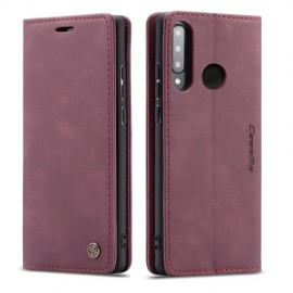 CaseMe Book Case Huawei P30 Lite Hoesje - Bordeaux