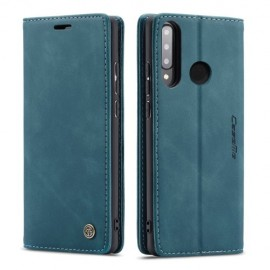 CaseMe Book Case Huawei P30 Lite Hoesje - Blauw