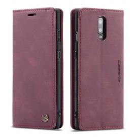 CaseMe Book Case OnePlus 7 Hoesje - Bordeaux