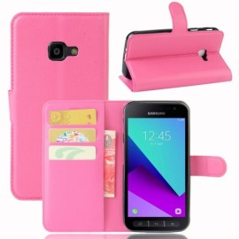 Book Case Samsung Galaxy Xcover 4s / 4 Hoesje - Roze
